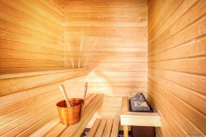 Sauna in Hotel Room