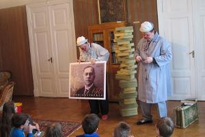 Piip and Tuut at the Vilde Museum