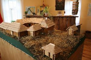 Model of the Luikjärve farm