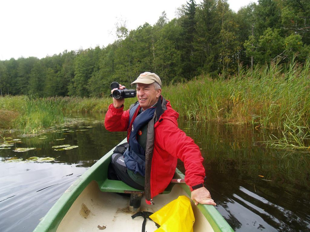 Canoeing in Soomaa in September