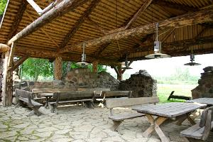 Barbecue area of the Ale-Sepa