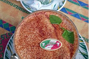 Steffani Pizzarestaurangs välkända tiramisu.
