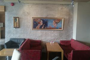 Paintings by Tiina Ojaste at the Restaurant Fahle