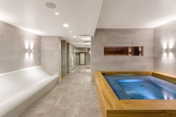 The new water and sauna centre has SIX new saunas and a Japanese bath