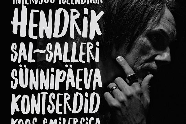 Hendrik Sal-Saller  AN INTERVIEW WITH MYSELF