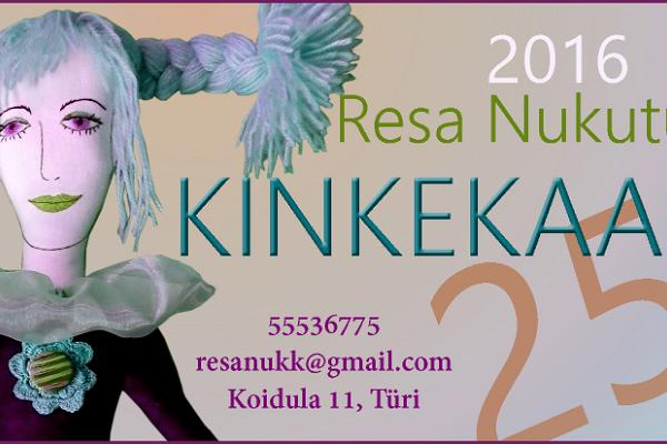 Gift certificate is valid only in Resa Doll Studio