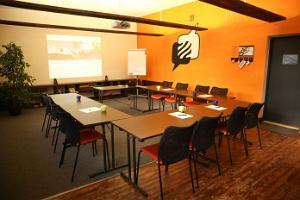 Seminar room Sõna. U-shaped layout