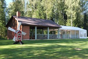 Disc golf at Nõmme Holiday Centre