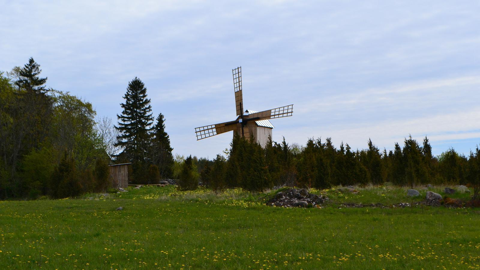 Windmill in Ennu village