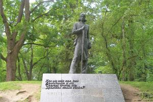 Monument to Kristjan Jaak Peterson