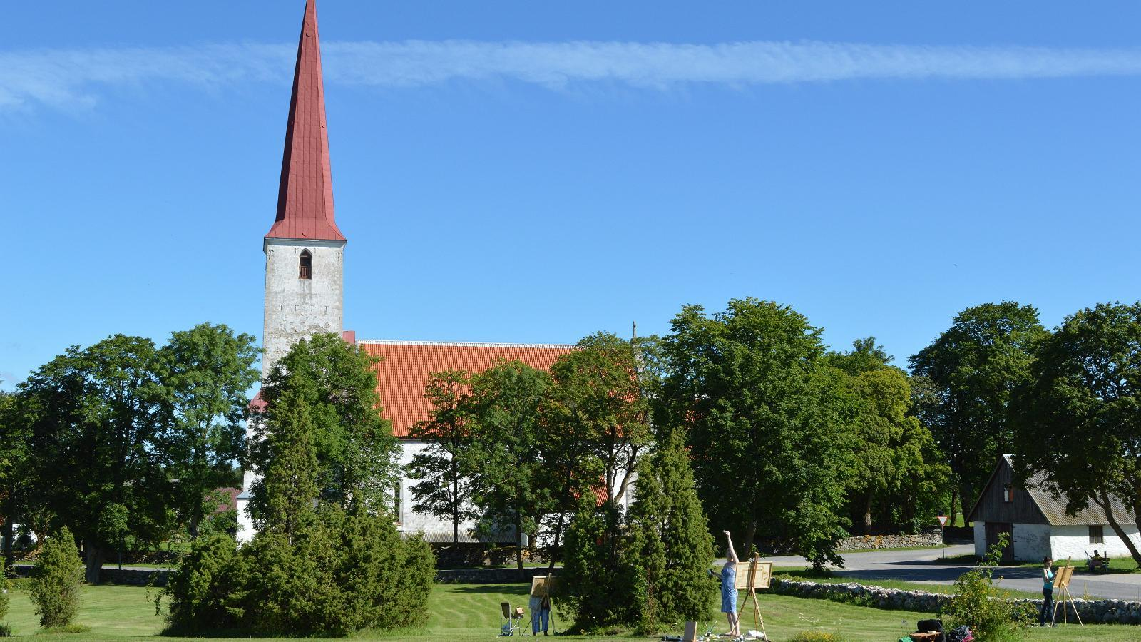 St. Michael's Church in Kihelkonna