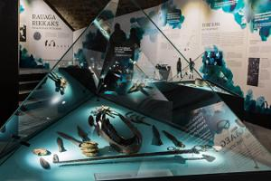 "The exhibition ""Viking era findings in Estonia"""