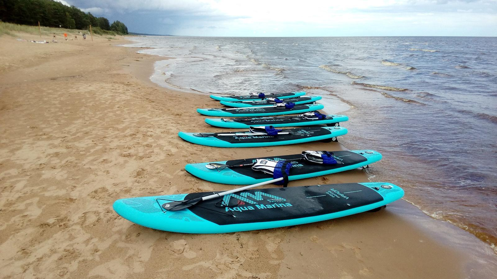 image SUP-boarding in Kauksi Beach