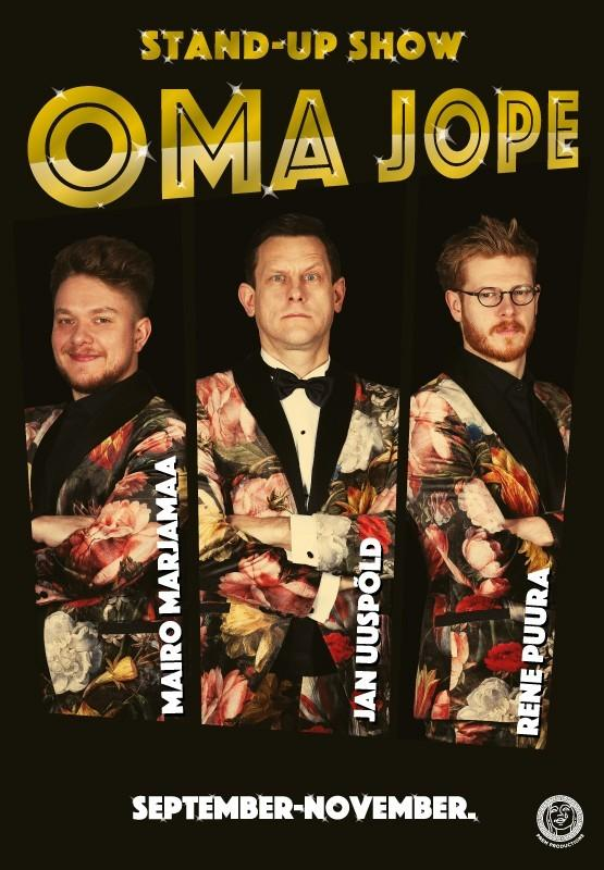 Stand-up show OMA JOPE