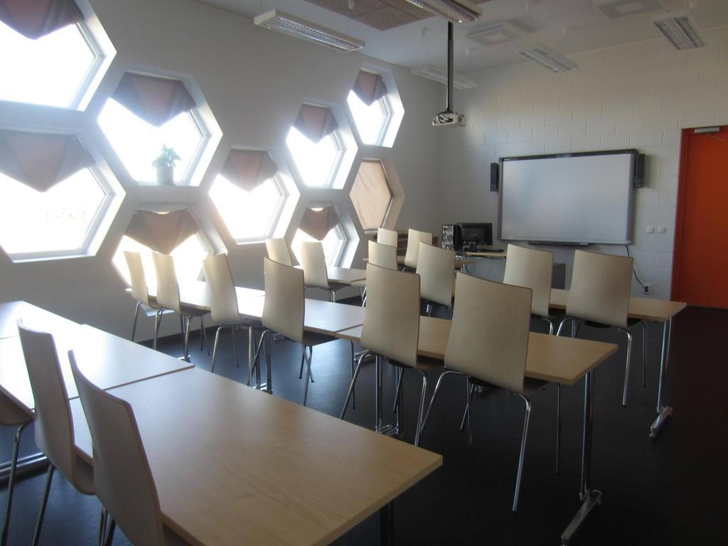 Seminar rooms at the Valga County Vocational Training Centre