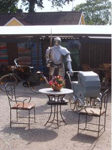 Barbeque Yard and Antiques Garden