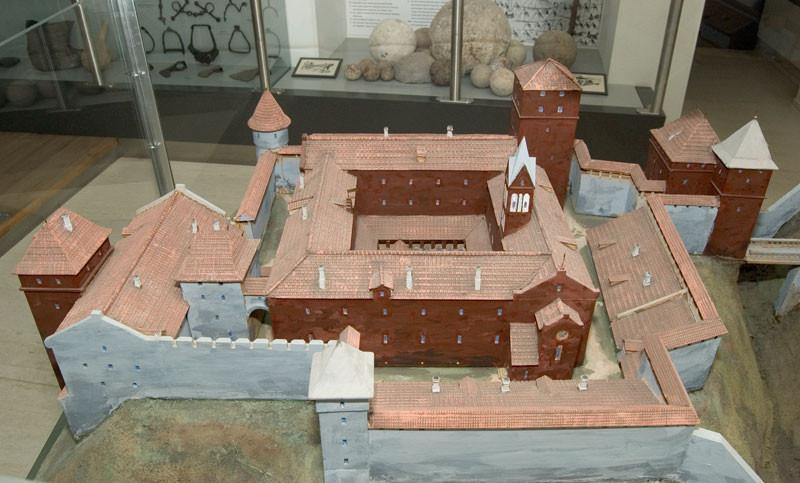 Model of Viljandi Order Castle