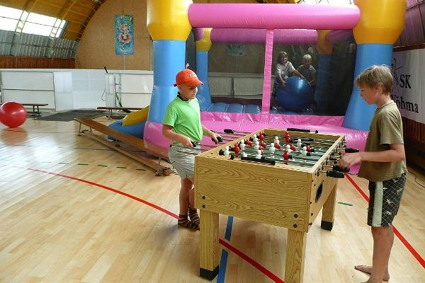 Foosball and other games