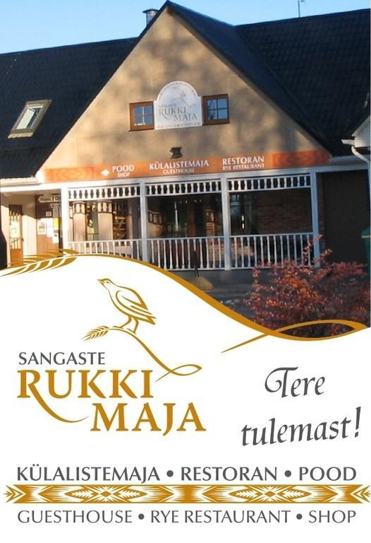 Welcome to Sangaste Rukki Maja Guesthouse!
