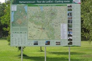 Radroute Tour de LatEst
