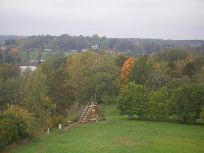 Rõuge hill fort and prehistoric settlement