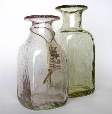Glass bottles with historical charm
