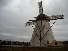 Authentic Dutch-style windmill starts operating in Albu