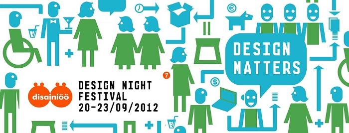 Design festival DESIGN NIGHT taking place on September 20-23