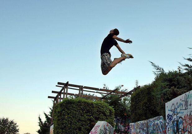 First parkour ground in the whole of Eastern Europe opens in Tallinn