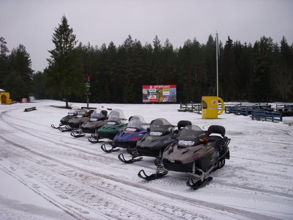 Motorised sledding in Kõrvemaa