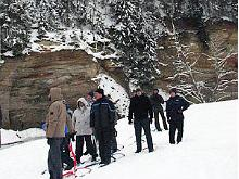 Kicksledding Tour in Picturesque Taevaskoja
