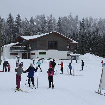 Haanja Skiing Centre in Haanja, 2 km from Vaskna Tourist Farm