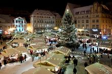 Winter brings the Christmas Market and skiing tracks to Tallinn