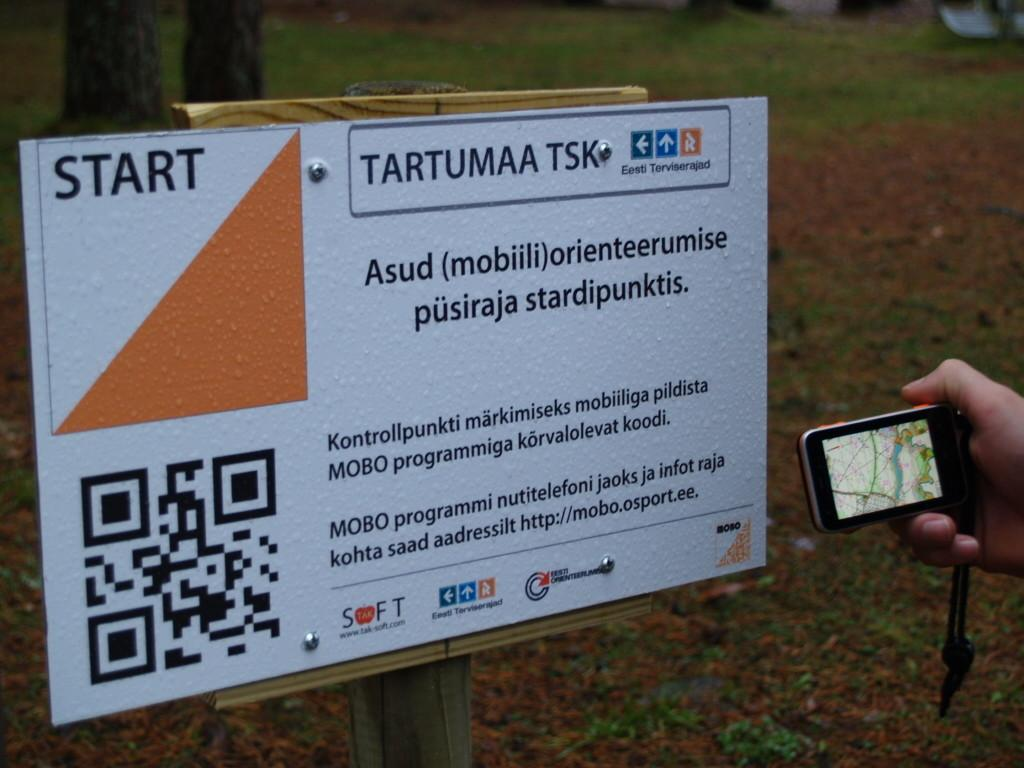 Mobo mobile orienteering trail