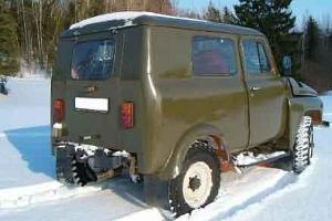 UAZ SUV for nature tours