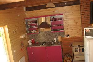 Toila holiday home – kitchenette of small holiday home