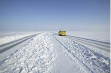Estonia claims Europe's longest ice highway
