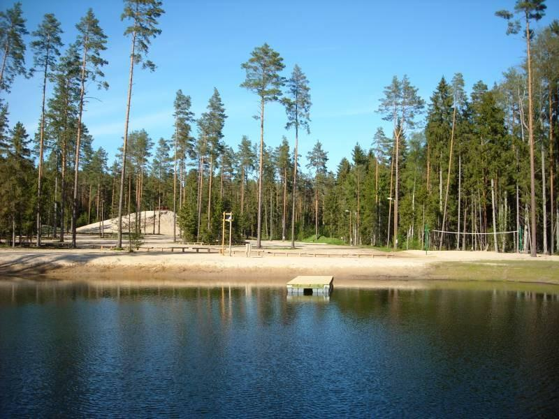 Health trails near the Valgehobusemäe Ski and Recreation centre