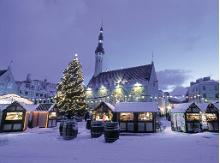 Christmas month December is the best time to visit Tallinn