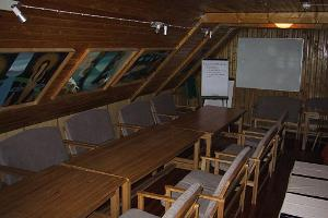 The seminar room in the Võerahansu Holiday House