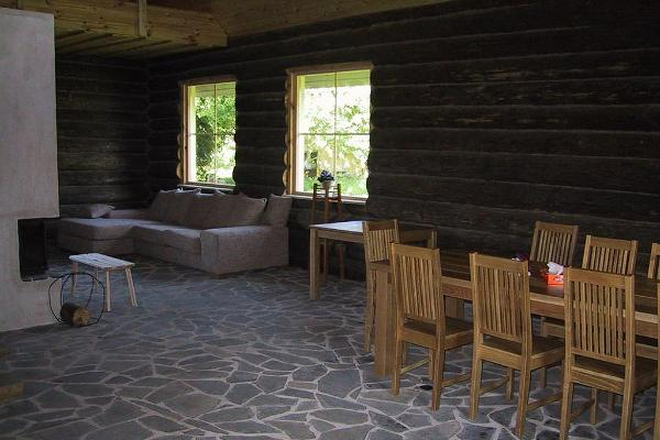 The seminar room in the Võerahansu II Holiday House