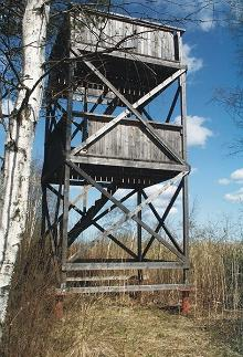 Sutlepa viewing platform and bird-watching tower