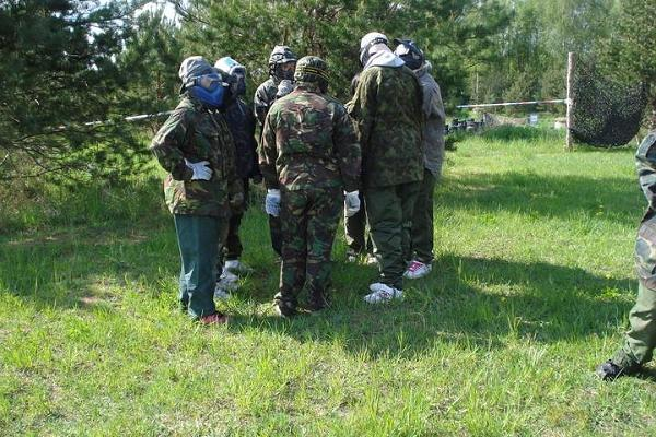 Paintball in Kakulaane