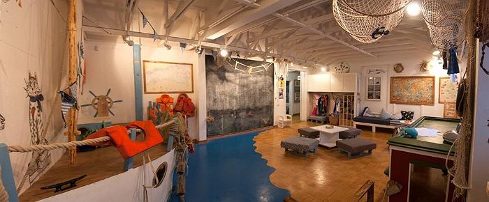 Museum of Coastal Folk - maritime-themed playroom