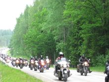 Otepää Tour 2013 motorcycle gathering
