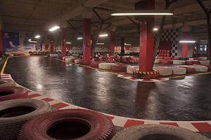 Viimsi indoor karting track