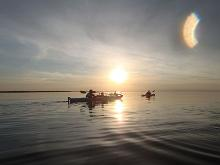 Kayaking on Haapsalu Bay