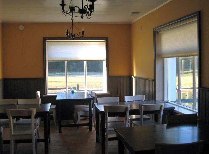 Kõrvemaa Hiking & Skiing centre dining hall