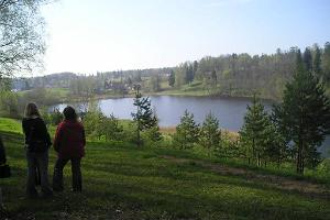 Lake Ratasjärv in Rõuge
