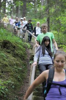 Guided hike in Taevaskoja